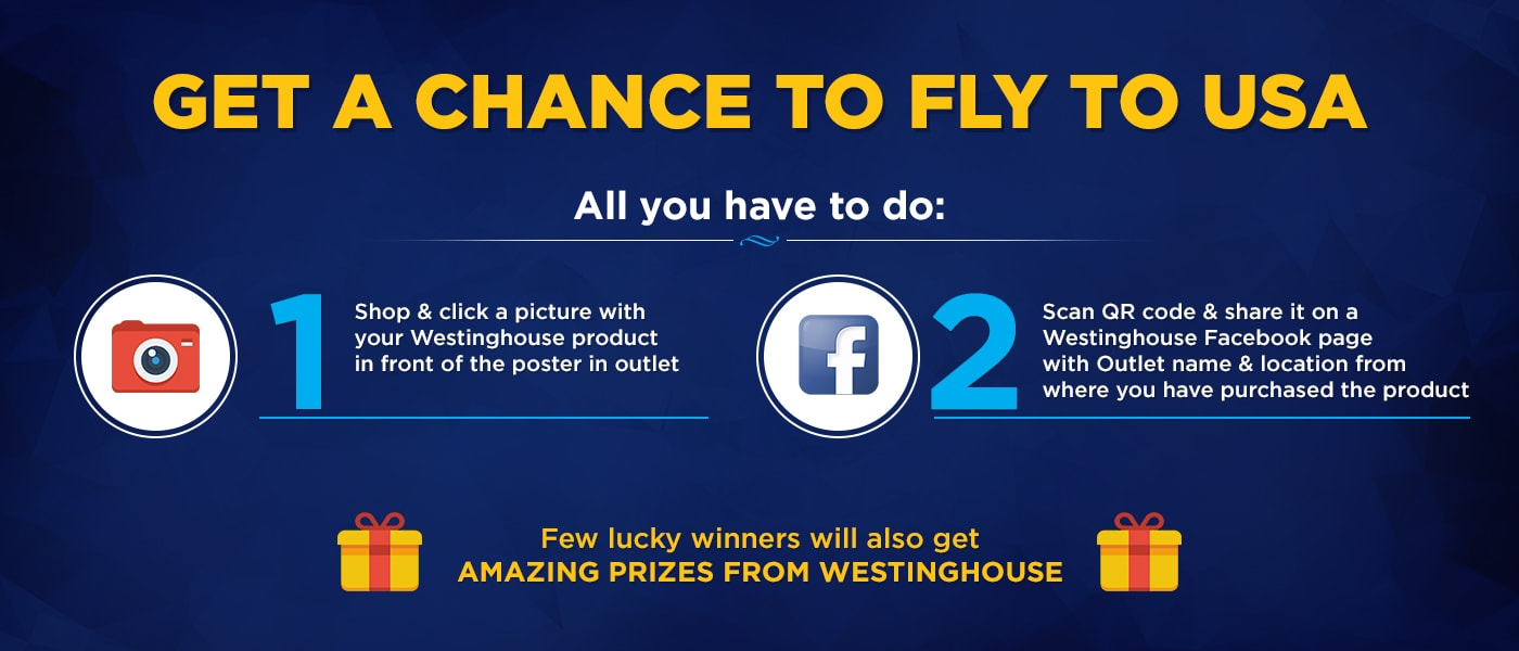 westinghouse Click to win